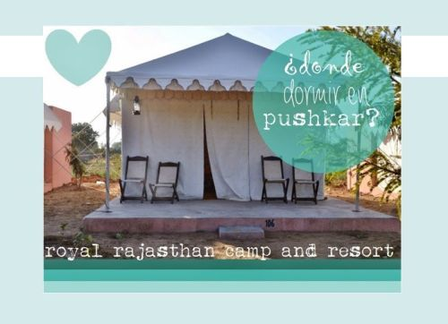 Donde dormir en Pushkar, Royal Rajasthan Camp Resort