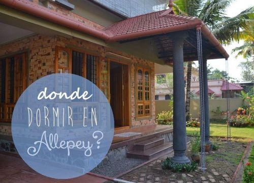 Donde dormir en Allepey, Elsa´s Homestay