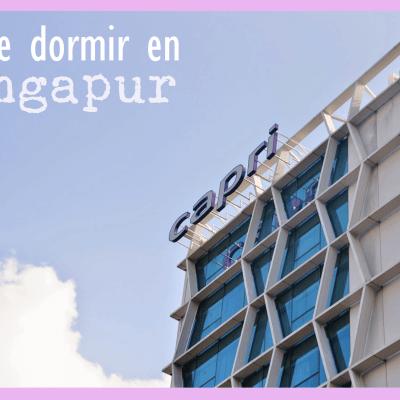 DURMIENDO POR… SINGAPUR