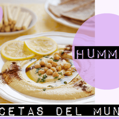 RECETAS DEL MUNDO: HUMMUS