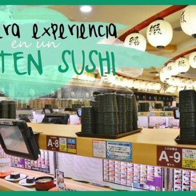 NUESTRA EXPERIENCIA EN UN KAITEN SUSHI (回転寿司)