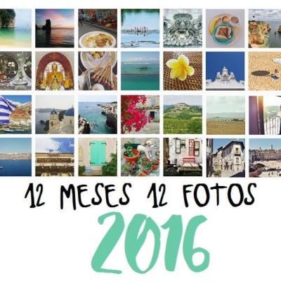 12 MESES 12 FOTOS. RESUMEN DE NUESTRO 2016