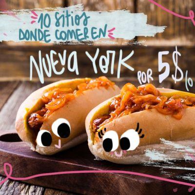 10 SITIOS DONDE COMER EN NUEVA YORK POR 5$ (O MENOS)