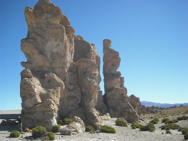 Formações Rochosas - Salar de Uyuni Bolívia