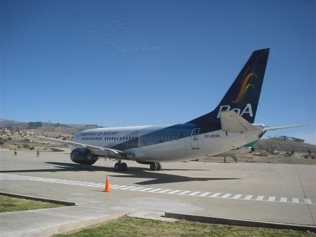 Aeroporto de Sucre - Bolívia