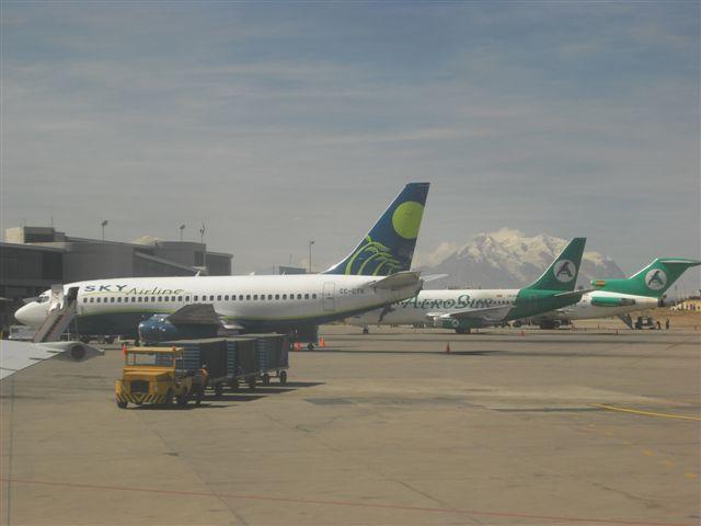 Aeroporto de La Paz - Bolívia