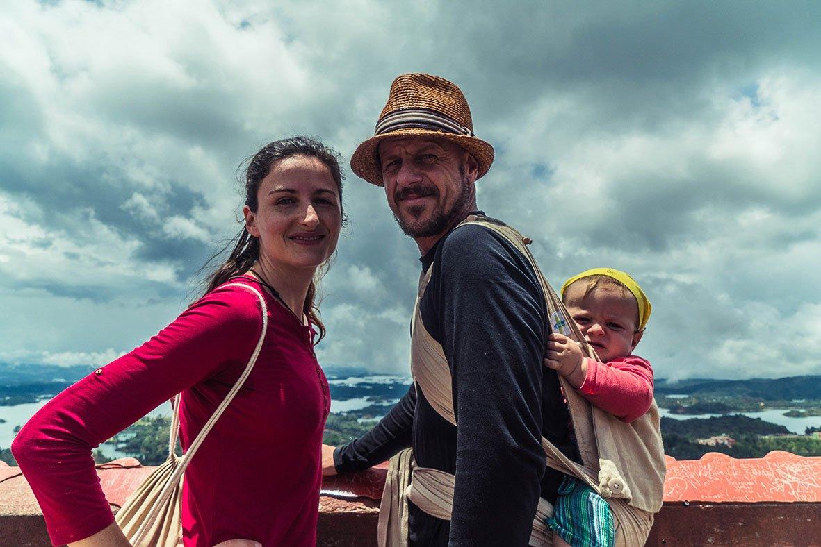 viajando con bebé en familia durante dos años