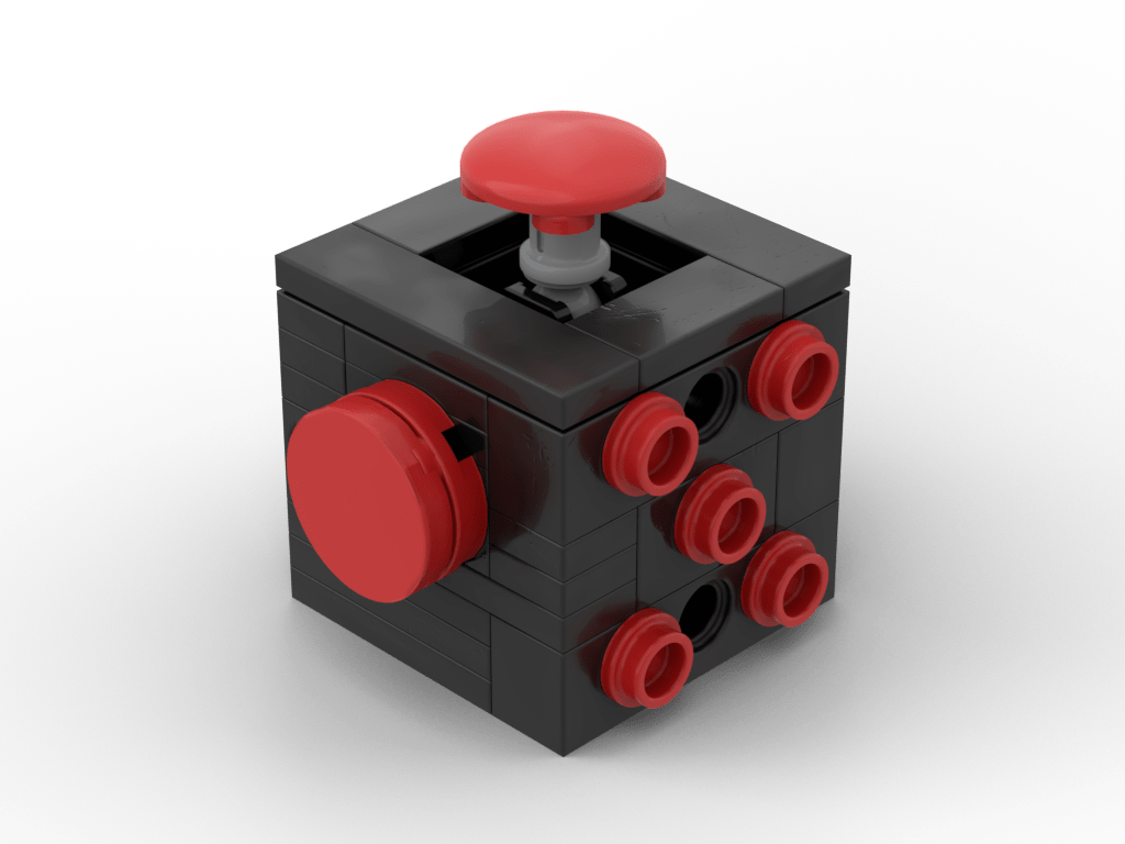 Fidget Cube (Red) | MOCHUB
