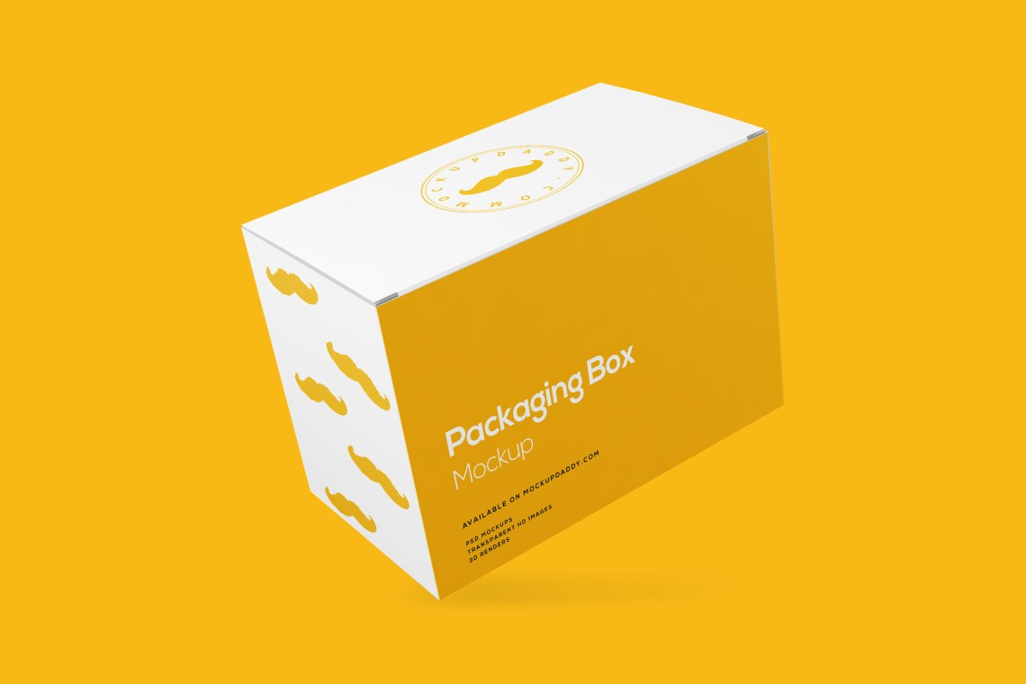 Download Rectangle Packaging Box Mockup Free Download - Mockup Daddy