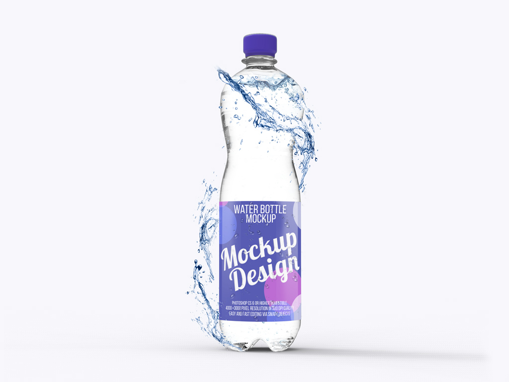 Bottled water is healthy water — or so marketers would have us believe. Water Bottle Mockup Set Mockup World