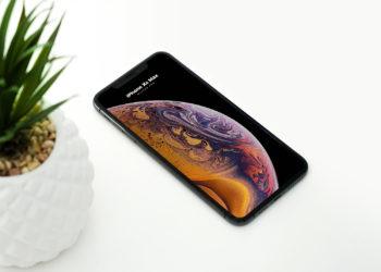 Download Iphone Xs Max Mockup Generator Yellowimages