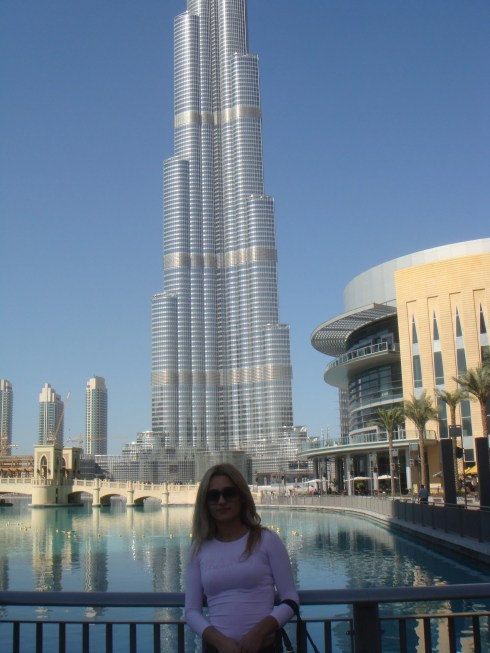 Dubai Burj Khalifa or Burj Dubai world's tallest building