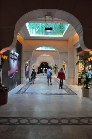 Dubai inside the hotel Atlantis
