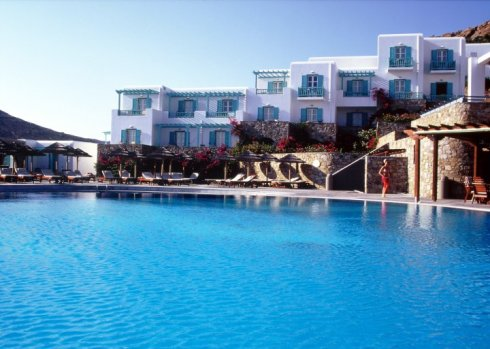Mykonos elia beach Roayal Mykonian collection and spa hotel