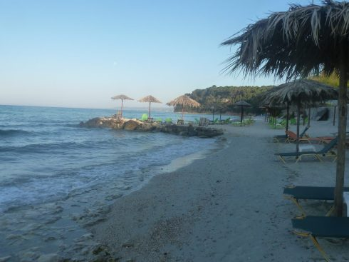 Greece Halkidiki first peninsula Kallithea