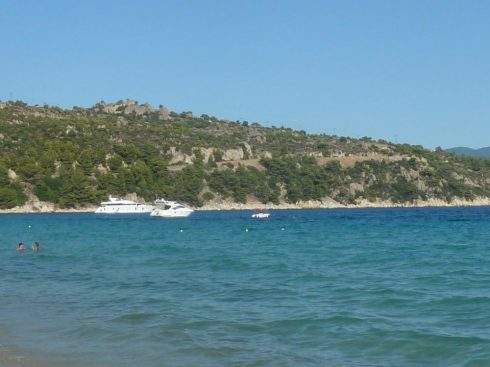 Greece Halkidiki Sithonia second peninsula Agios Ioannis beach