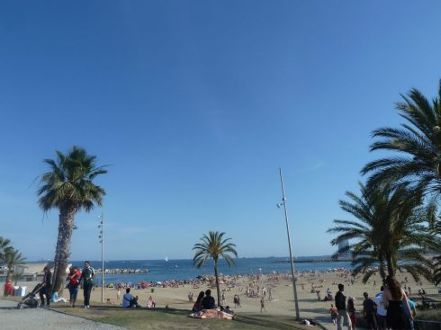 Spain Barcelona beaches