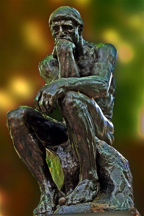 world's most popular statues The Thinker by Auguste Rodin