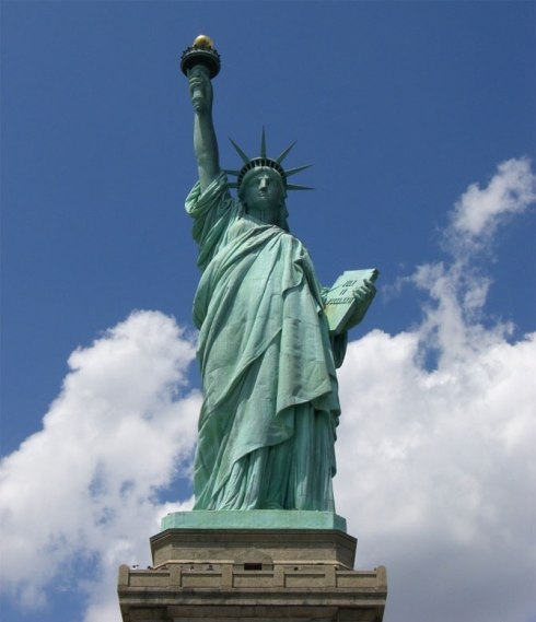 world's most popular statues New York, US