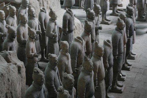 world's most popular statues Xi'an, Shaanxi province, China