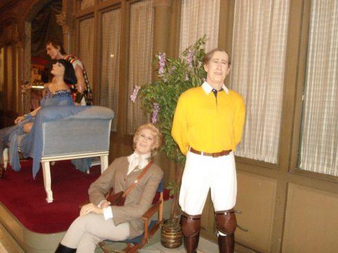 wax figures Cabinet in Barcelona