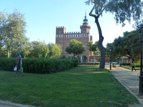 Barcelona Spain park de la ciutadella