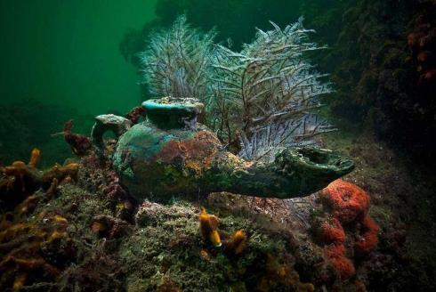 underwater uncient cities