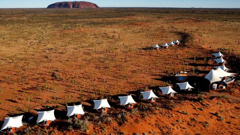 Longitude 131 Tented Resort, Ayers Rock, Australia