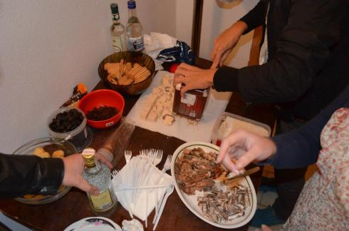 youth in action project Greek traditional food