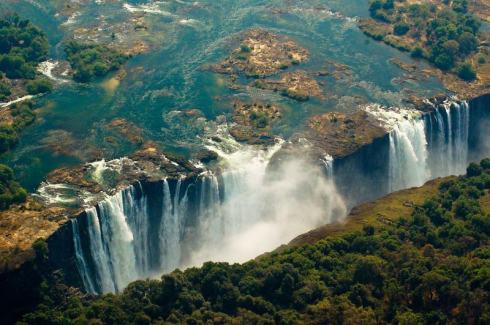 most beautiful natural pools Victoria Falls, Zambia