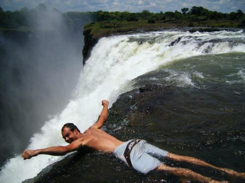 most beautiful natural pools Victoria Falls, Zambia 2