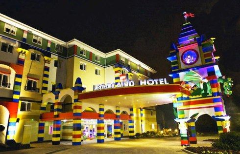 unique hotel made of lego in US 9