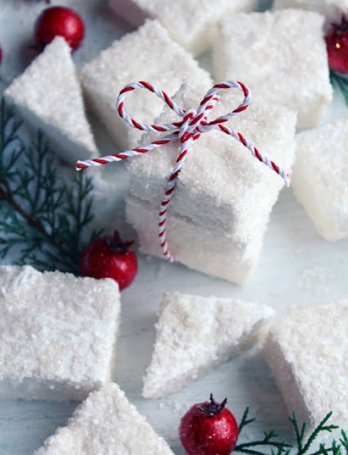 Best recipes for christmas icy Marshmallows