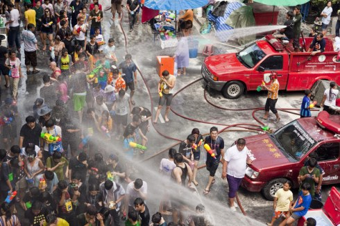 World's most interesting festivals, Songkran Water Festival