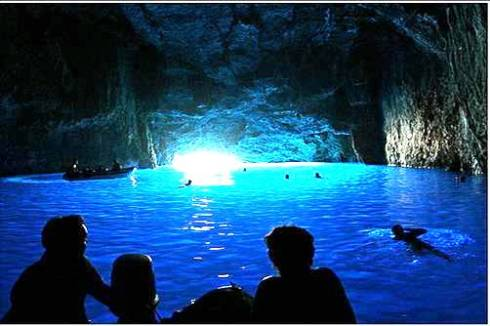 Beautiful Cave in Greek island 6