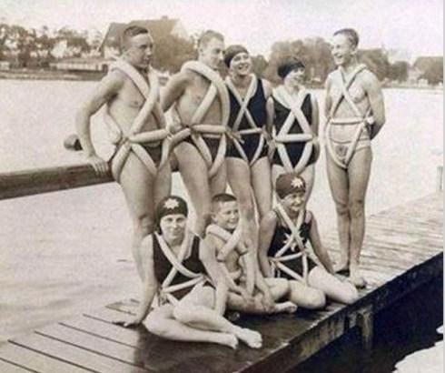 strange old timey inventions, life vest