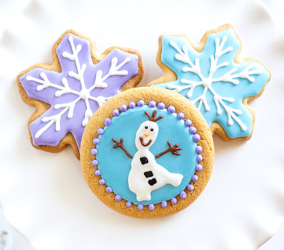 the cutest olaf cookies 7