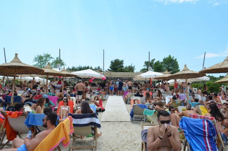 Greece Halkidiki Paliouri beach, best beach bars in Halkidiki Lefki