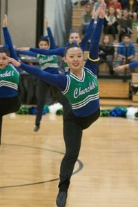 1/20/2018, Division 2, Jaguars, Jeffrey Vogt Photography, MCPS, MoCoDaily, Montgomery County Maryland, Northwest HS, Northwest HS Poms Invitational 2018, Photography by Jeffrey Vogt, Photos by Jeffrey Vogt, Poms, Varsity Poms, Winston Churchill High School, Bulldogs,