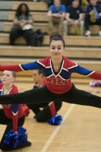 1/20/2018, Division 2, Jaguars, Jeffrey Vogt Photography, MCPS, MoCoDaily, Montgomery County Maryland, Northwest HS, Northwest HS Poms Invitational 2018, Photography by Jeffrey Vogt, Photos by Jeffrey Vogt, Poms, Varsity Poms, Thomas Wootton High School, Patriots,