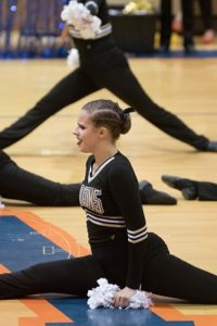 1/27/2018, Division 1, Wolverines, Jeffrey Vogt Photography, MCPS, MoCoDaily, Montgomery County   Maryland, Watkins Mill HS, Watkins Mill HS Poms Invitational 2018, Photography by Jeffrey Vogt, Photos   by Jeffrey Vogt, Poms, Varsity Poms, Poolesville High School, Falcons,