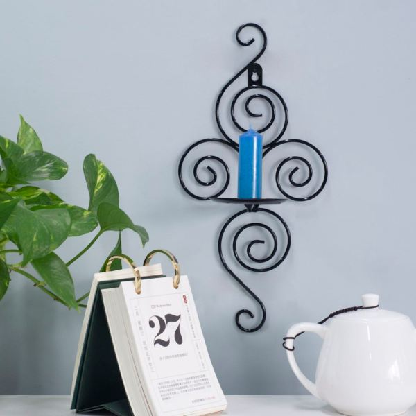 Set of 2 Hanging Wall Candle Sconces Home Decor