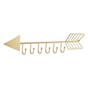 arrow wall mounted coat rack