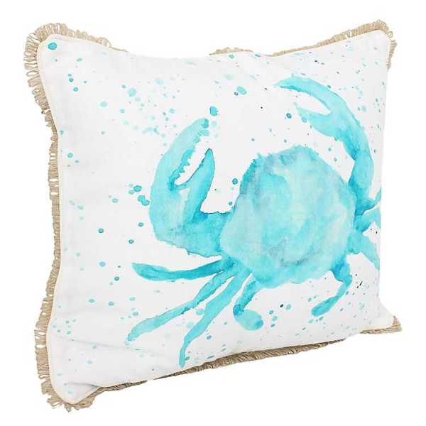 Throw Pillows - Carmello Crab Splatter Printed Pillow