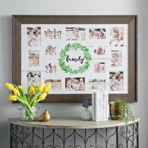 Collage Frames - Family Wreath Shiplap Collage Frame