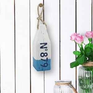 Statues & Figurines - No. 879 Blue Wooden Buoy