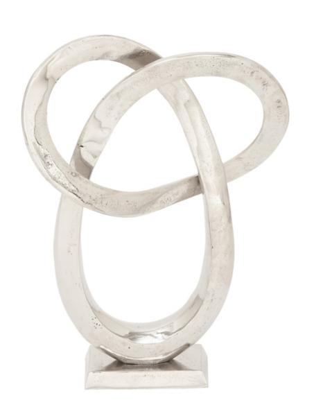 Statues & Figurines - Silver Loop Statue
