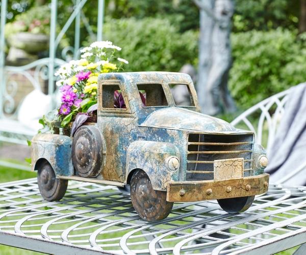 Garden Decor - Vintage Pickup Truck Planter