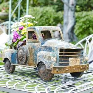 Garden Decor - Vintage Pickup Truck Planter