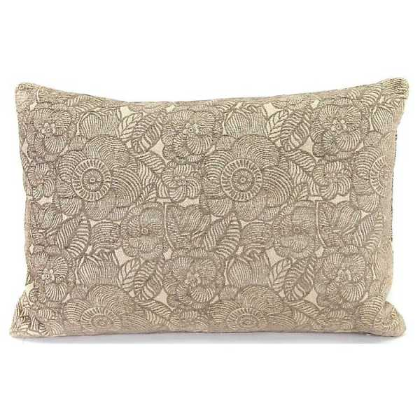 Throw Pillows - Cobblestone Ashani Welted Accent Pillow